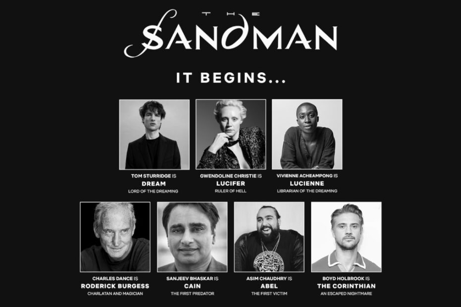 The Sandman Netflix Adaptation Ropes in Game of Thrones Stars Gwendoline Christie and Charles Dance