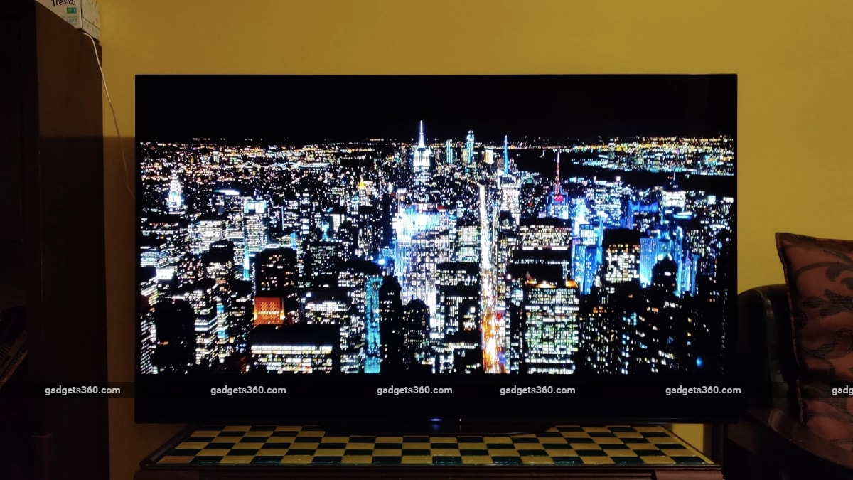 sony a9g oled tv review the boys night