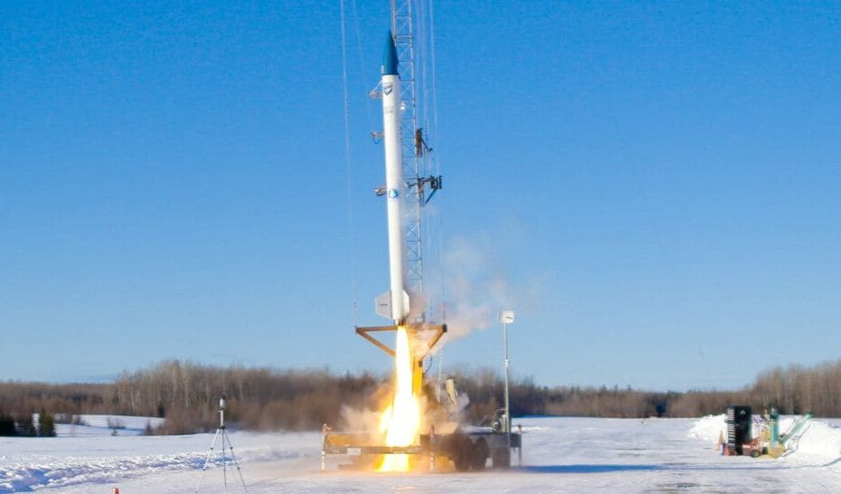 First Biofuel-Powered Commercial Rocket Successfully Test Launched in Maine