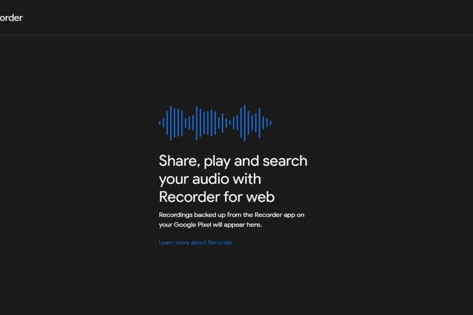 Google Recorder Web App Allows for Real-Time Transcriptions for Pixel Audio Recordings on Desktop