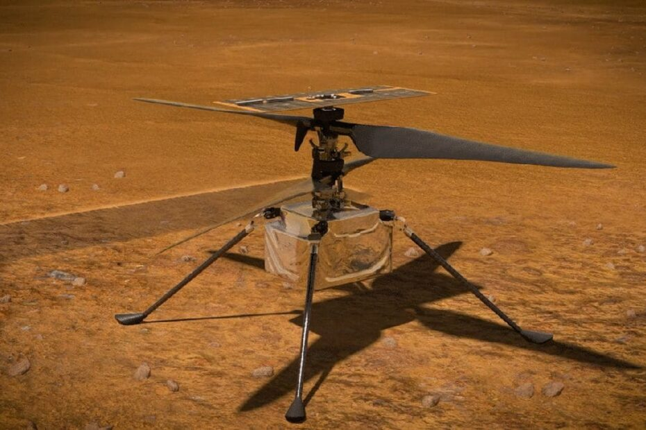 NASA Wants to Fly Ingenuity Helicopter on Mars for the First Time