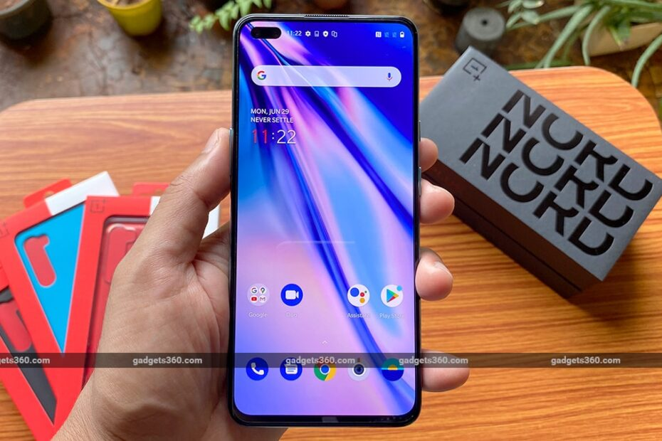 OnePlus Nord Getting OxygenOS 10.5.11 Update With January 2021 Security Patch