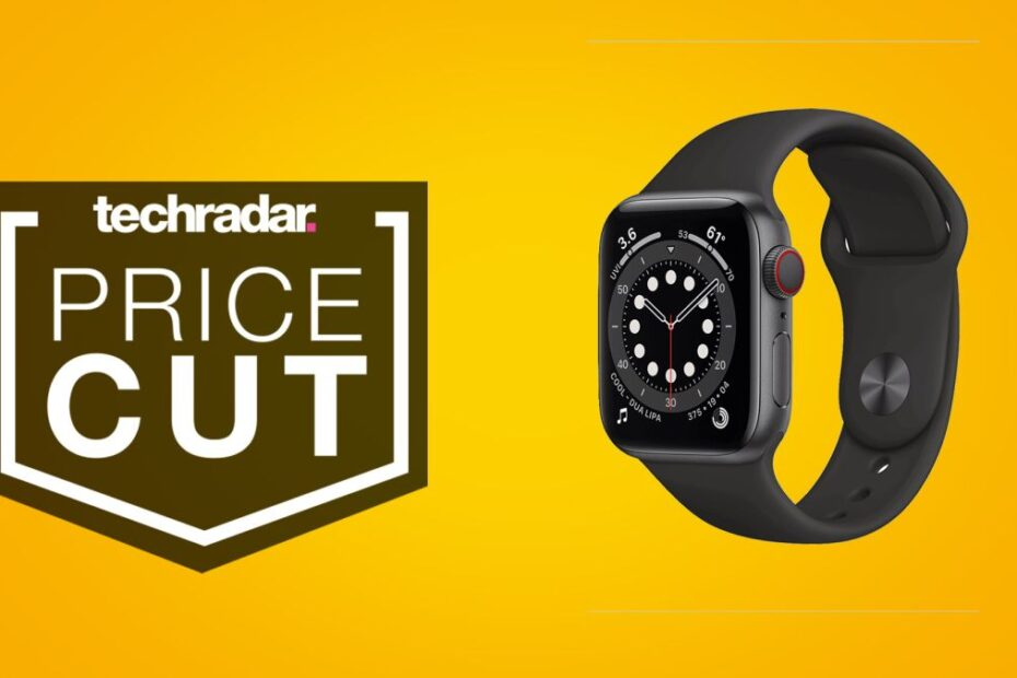 The Apple Watch 6 gets a $50 price cut in epic deal at Amazon