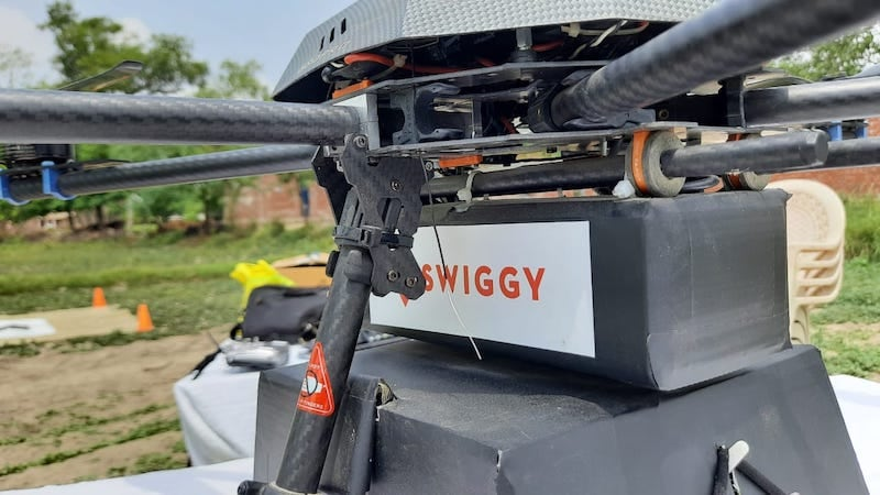 Drone Food Deliveries to Take Off Soon? Swiggy And ANRA Technologies To Launch Trials