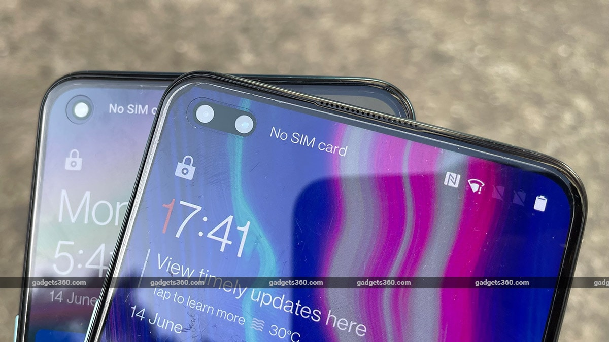 OnePlus nord vs nordce frontcameras OnePlus Nord CE vs OnePlus Nord