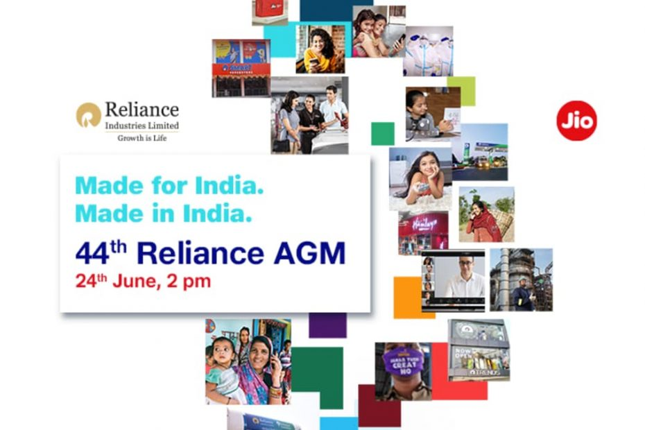 Reliance AGM 2021 Virtual Event Today: How to Watch Live, Jio Chatbot Announced, Jio 5G Phone Expected