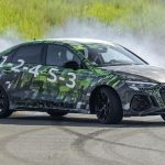 2022 Audi RS 3 promises five-cylinder power and a drift-happy differential