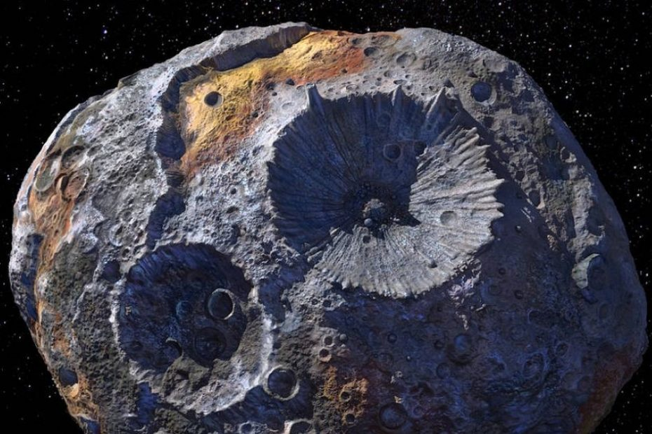 As NASA eyes asteroid Psyche, scientists question how metal it really is
