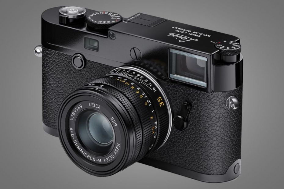 Stunning Leica M-10R Black Paint edition is designed to age gracefully