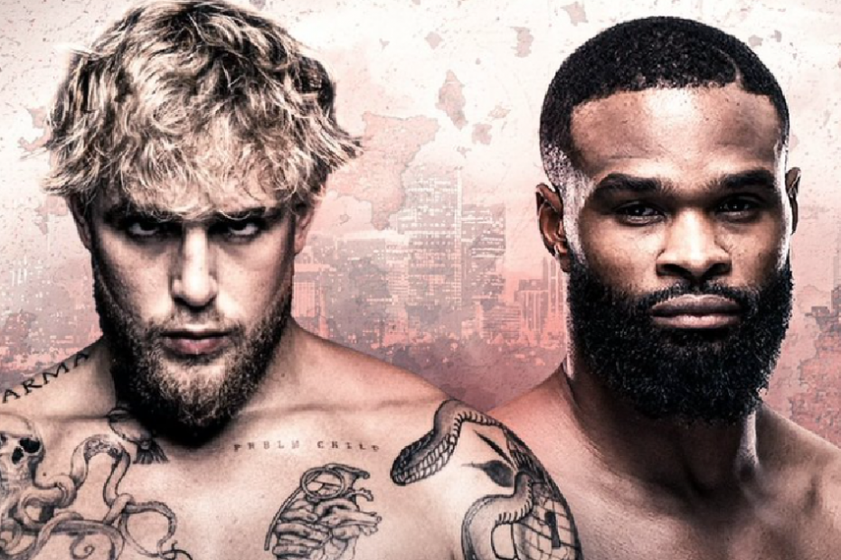 Jake Paul announces he'll fight former UFC champ Tyron Woodley