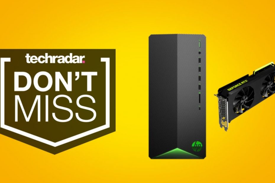 Looking for a cheap RTX 3060 Ti? This HP Pavilion gaming desktop is a great deal at just $1024.99 in this week's sales.