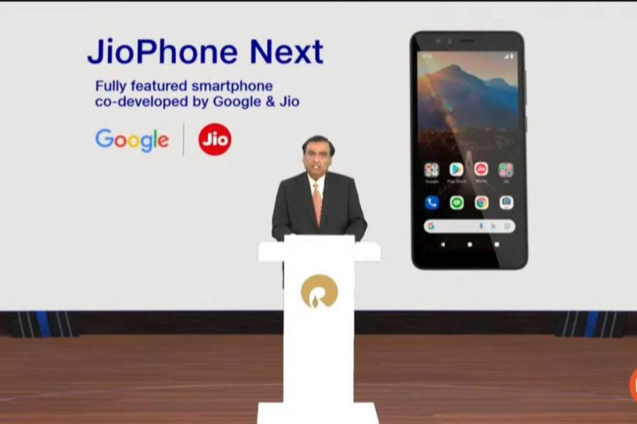 Reliance and Google showcase the JioPhone Next for India