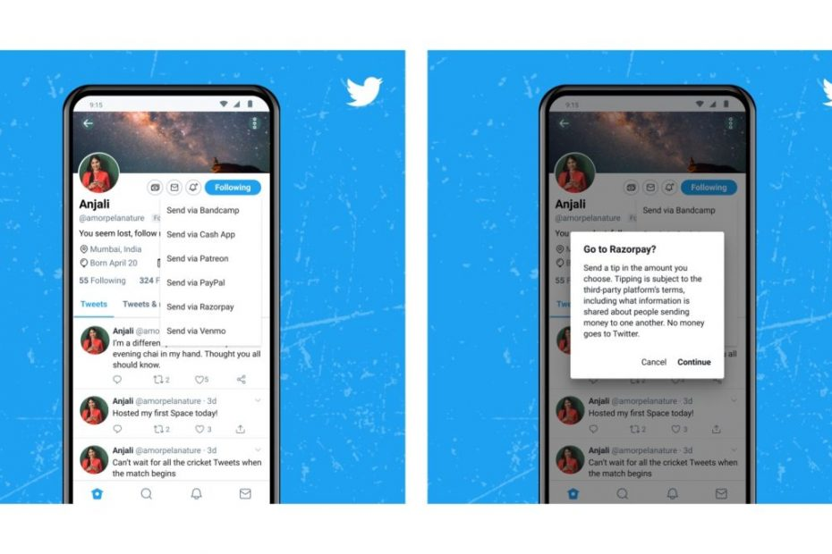 Twitter partners with India's Razorpay for Tip Jar feature - Here's how to use it