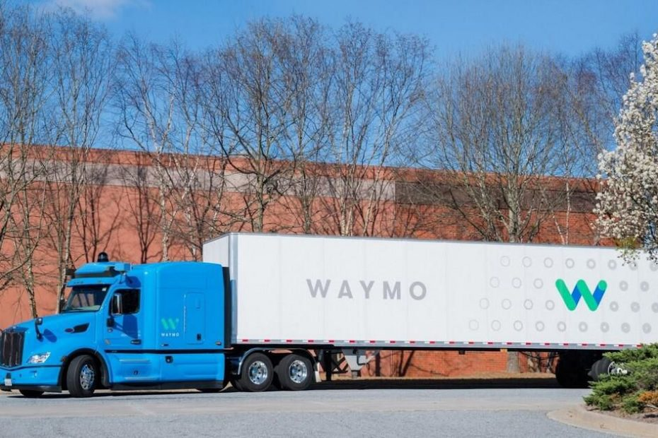 Waymo partners with trucking firm J.B. Hunt to deliver cargo in Texas