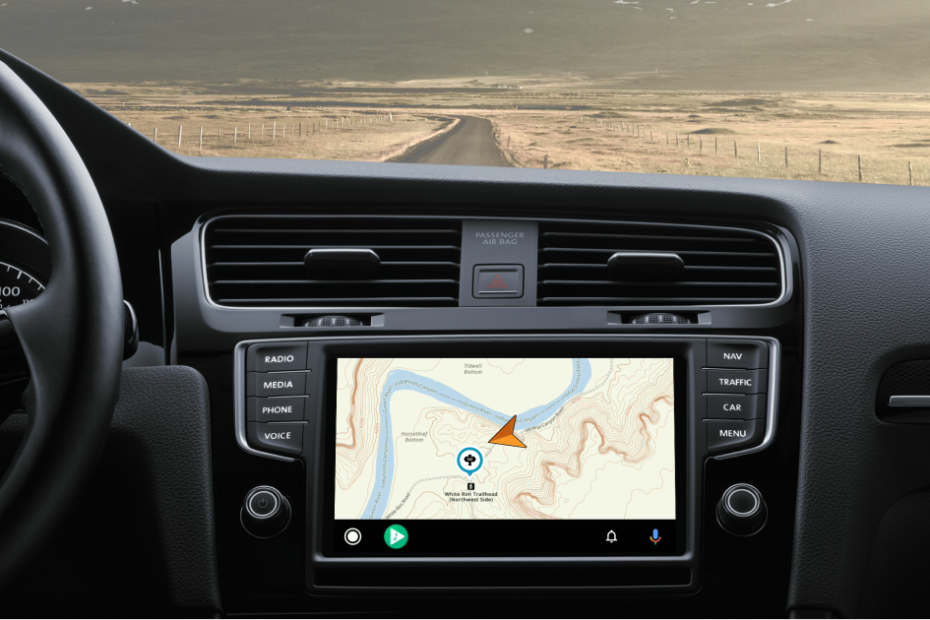 Gaia GPS off-road navigation app gains Android Auto compatibility