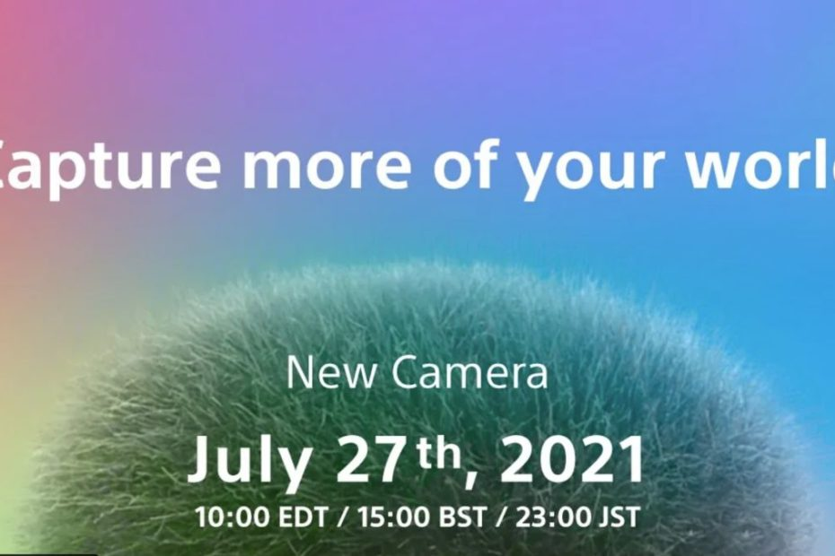 Sony finally reveals launch event for delayed vlogging camera