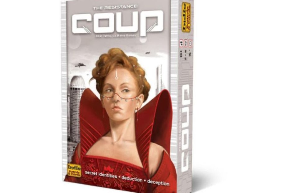 Popular party game Coup is only $8 today
