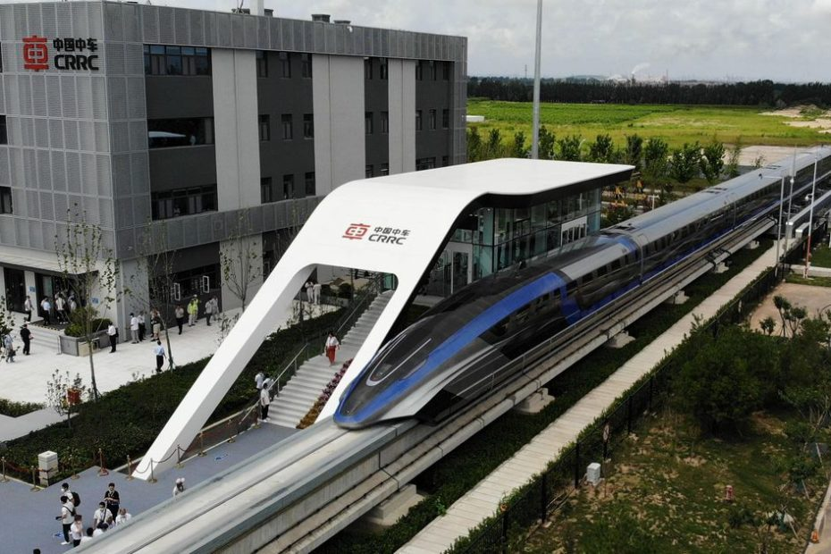 World's fastest train debuts with speeds reportedly up to 373 miles per hour