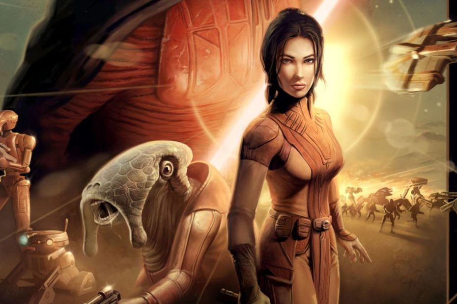 Don't expect the Star Wars Knights of the Old Republic remake at EA Play Live