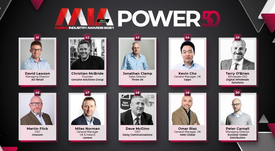 Power 50 2021: Our first ten nominees revealed!