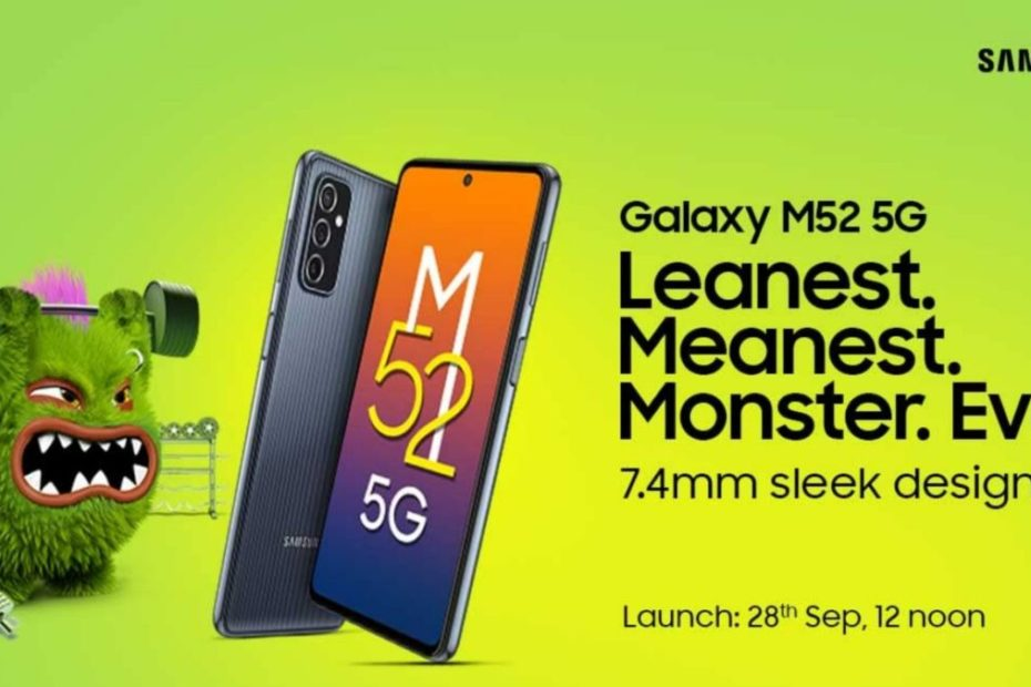 Samsung Galaxy M52 5G launching in India on September 28