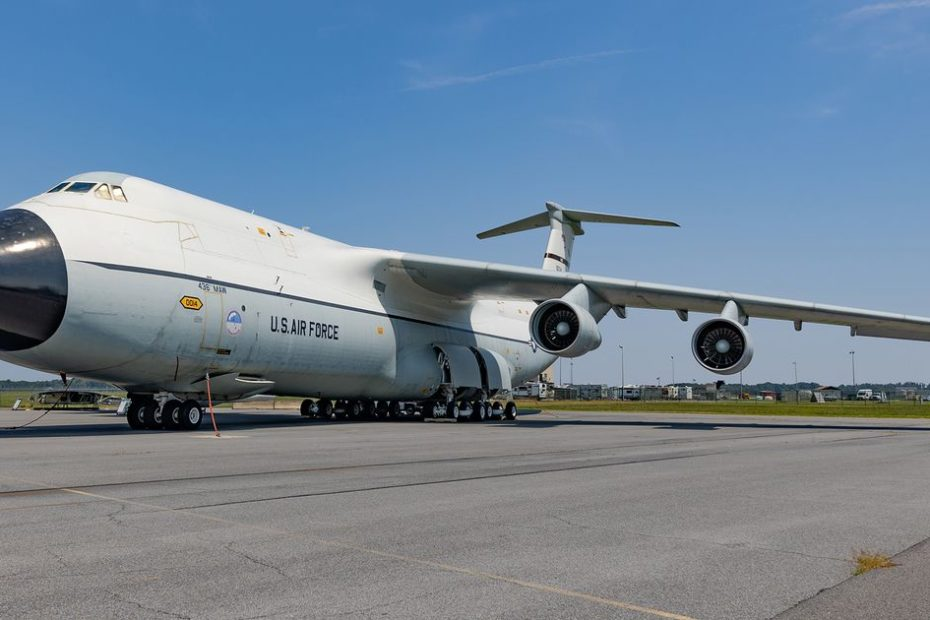 Cargo haulers of the sky at the Air Mobility Command Museum
