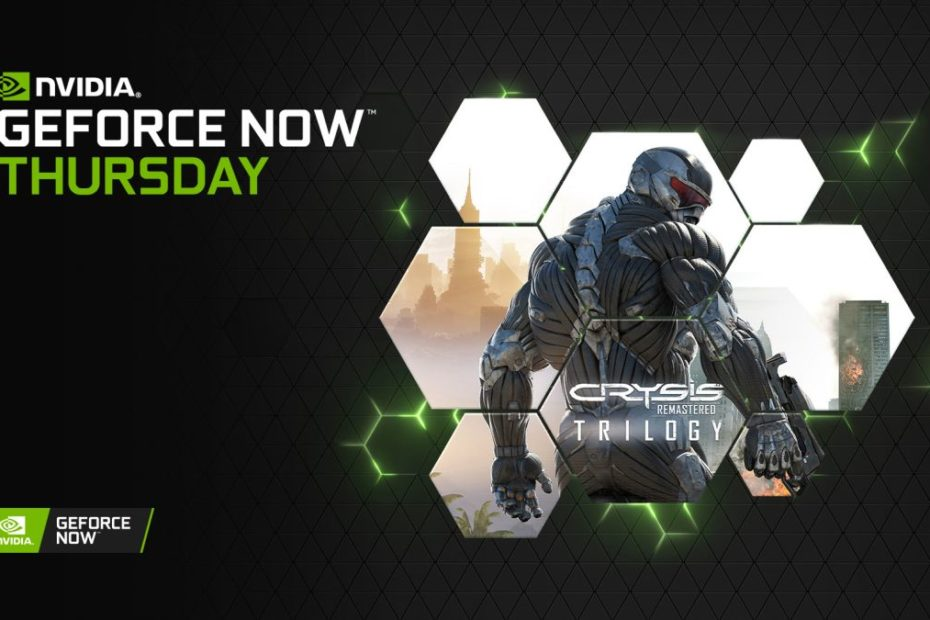Everything can now run Crysis thanks to Nvidia GeForce Now