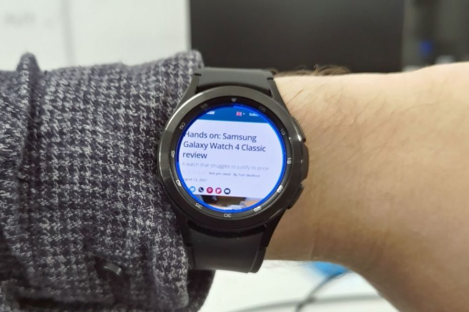 Samsung Galaxy Watch 4 now has a feature no-one was asking for